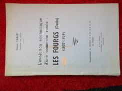 """L'évolution économique D'une Commune Rurale : Les Fourgs """"Doubs"""" (Simon Carrez) éditions Du Comtois - Books, Magazines, Comics"""