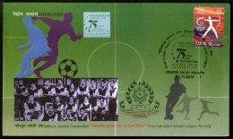 India 2010 First Calcutta Football League Winning Sport Special Cover # 9716