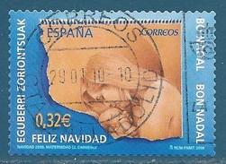 Espagne N°4166 Noël 2009 Oblitéré