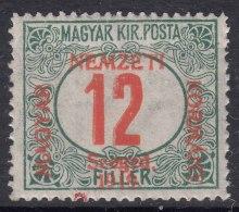 Hungary Szegedin Szeged 1919 Porto Mi#4 Mint Never Hinged - Szeged