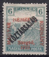 Hungary Szegedin Szeged 1919 Mi#30 Mint Hinged - Szeged
