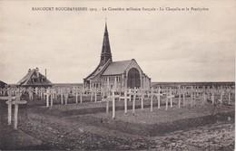 RANCOURT-BOUCHAVESNES 1925 - Le Cimetière Militaire Français - La Chapelle Et Le Presbytère - France