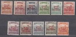 Hungary 1919 Mi#266-276 Mint Hinged