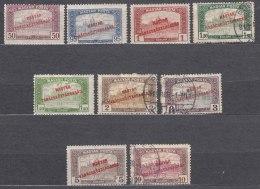 Hungary 1919 Mi#277-285 Mint Hinged/used