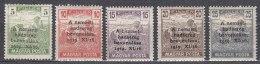 Hungary 1919 Mi#286-290 Mint Hinged