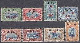 Germany East Africa Belgian Occupation 1918 Mi#25-32 Mint Hinged