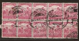 Hungary 1916 Mi 186 Szombathely 10x