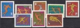 Poland 1966 Sport Mi#1680-1687 Mint Never Hinged