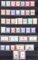 France Nice Revenue Stamps Collection - Fiscaux