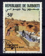 DJIBOUTI - 644° -  CAMPAGNE CONTRE LA FAIM