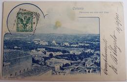 Catania - Panorama Con Vista Dell' Etna