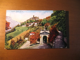 CARTOLINA FORMATO PICCOLO   -   VARESE SACRO MONTE   -  B -  541 - Varese
