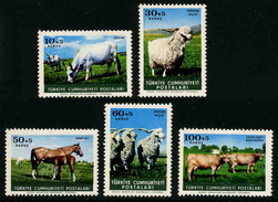 TURQUIE - ANIMAUX De La FERME - YT 1699 à 1703 * - SERIE COMPLETE 5 TIMBRES NEUFS * - Farm