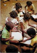 CPSM CPM  10 X 15 Mayotte Les Comores Non Circulé école - Mayotte