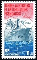 TAAF 1984 - Yv. PA 84 ** TB  Faciale= 1,72 EUR - Bateau Patrouilleur Albatros  ..Réf.TAF20567 - Navires & Brise-glace