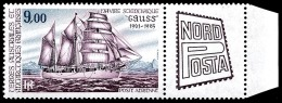 TAAF 1984 - Yv. PA 85 ** TB Bdf  Faciale= 1,37 EUR - Navire 'Gauss', Expo Nordposta  ..Réf.TAF20568