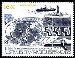 TAAF 1987 - Yv. PA 98 ** TB  Faciale= 2,56 EUR - Programme De Forage ODP  ..Réf.TAF20570