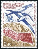 TAAF 1991 - Yv. PA 115 **   Faciale= 0,32 EUR - Faune : Albatros  ..Réf.TAF20573