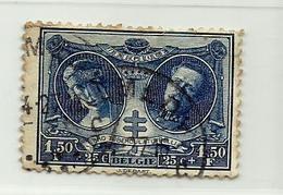 Timbre Belgique Antituberculeux   N° 243 -  1.50F + 25c - Belgium
