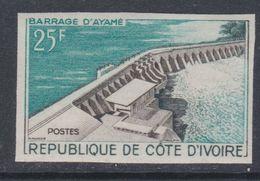 Cote D'Ivoire N° 200 Nd XX : Inauguration Du Barrage D'Ayamé, Non Dentelé, Sans Charnière, TB_