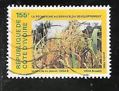 TIMBRE OBLITERE DE COTE D'IVOIRE DE 1986 N° MICHEL 940