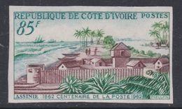 Cote D'Ivoire N° 206 Nd XX : Centenaire De La Poste D'Assinie, Les 3 Valeurs Non Dentelées, Sans Charnière, TB_