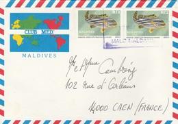 Enveloppe Illustrée Du Club Med. Des Maldives. Des Maldives . (TTB )