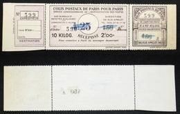 COLIS POSTAUX PARIS N° 188 Neuf N Cote 55€