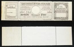 COLIS POSTAUX PARIS N° 98  Neuf N** TB Cote 50€