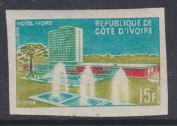 """Cote D'Ivoire N° 248 Nd XX : Inauguration De L'Hôtel """"Ivoire"""" D'Abidjan, Non Dentelé, Sans Charnière, TB_"""