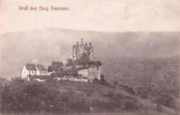 ALTE AK  KORDEL (Eifel) / Rhld.-Pf.  - Burg Ramstein - Gelaufen 1907 - Germany