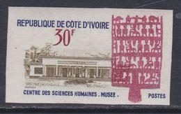Cote D'Ivoire N° 282 Nd XX : Musée Des Sciences Humaines, Non Dentelé, Sans Charnière, TB_