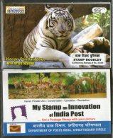 India 2017 Kanan Pendari Zoo Tiger Deer Wildlife Animals BILASAPEX Booklet # 5701