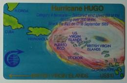 BRITISH VIRGIN ISLANDS - GPT - 2CBVA - $10 - Hurricane Hugo - BVI-2A - Mint - Rare