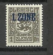 Deutschland Schleswig 1920 Michel 15 *