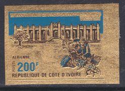 Cote D'Ivoire P.A. N° 52 Nd XX : 11ème Anniversaire De L'Indépendance, 200 F. Sur Or, Non Dentelé, Sans Charnière, TB_