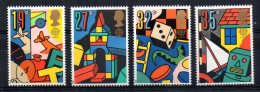 Great Britain - 1989 - Europa/Games & Toys - MNH - Nuovi