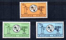 Cyprus - 1965 - ITU Centenary - MNH