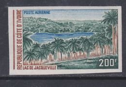 Cote D'Ivoire P.A. N° 58 Nd XX : Lac De Jacqueville, Non Dentelé, Sans Charnière, TB_