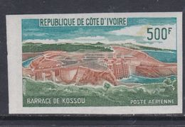 Cote D'Ivoire P.A. N° 59 Nd XX : Barrage De Kossou, Non Dentelé, Sans Charnière, TB_