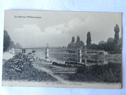 CPA (94) Val De Marne - LE PERREUX - La Passerelle - Le Perreux Sur Marne