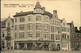 Vilvoorde - Square Du Chastel (en Façe De L'Eglise)  // Hôtel COOMANS * Privé-kaart