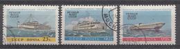 RUSSIE 1960 Mi.nr: 2395-2397 Binnenschiffahrt  OBLITÉRÉS / USED / GESTEMPELD