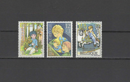 Belgium 1984 Children Set Of 3 MNH