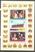 Tuvalu 1977 SG 53 Silver Jubilee Miniature Sheet Unmounted Mint