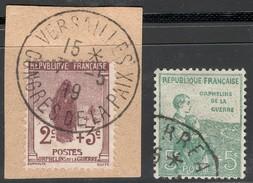 France Yvert 148/49 Oblit. TB Sans Défaut Cote EUR 30 (numéro Du Lot 218LA)