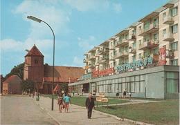 AK Sulecin Zielenzig Plac Stefana Czarnieckiego Dawna Slowianska Osada Targowa Restauracja Polska Polski Pologne Poland - Polen