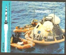 Tuvalu 1989 SG 534 Apollo 11 Miniature Sheet  Unmounted Mint