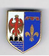 Pin's émaillé   Aigle Couronné - Militaria