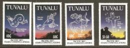 Tuvalu 1992  SG 621-4 Constellations  Unmounted Mint